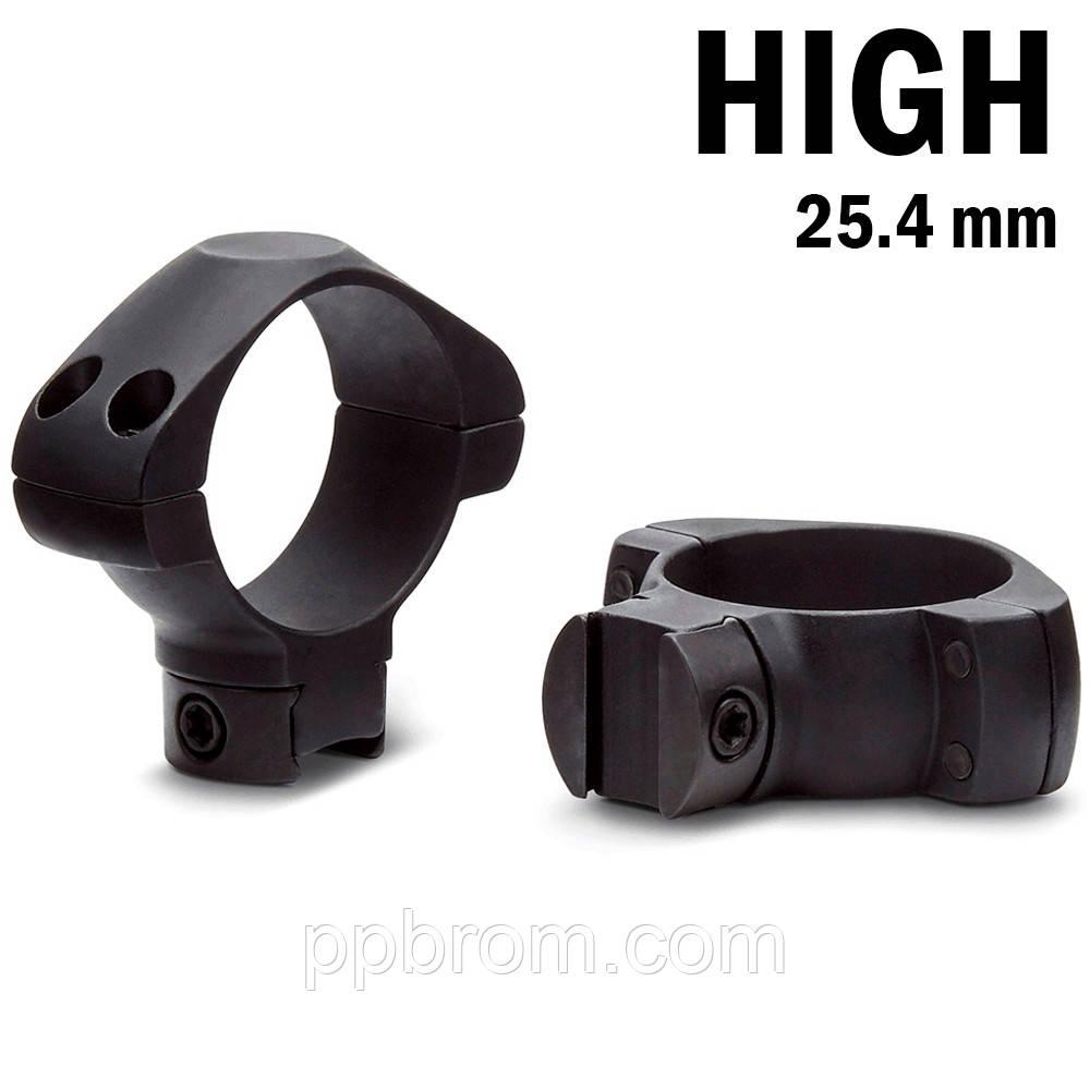 Крепление для прицела KONUS STEEL-AG Монтажные кольца 25.4мм (высокие)