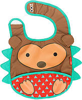 Слинявчик дитячий Zoo Їжачок коричневий (2308)