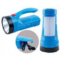 Переносной фонарь ASK 2833 ( 1W + 12 LED ) ручной аккумуляторный ТМ АСК