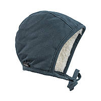 Elodie - Детская зимняя шапка Winter Bonnet, цвет Juniper Blue, 3-6 мес, фото 1