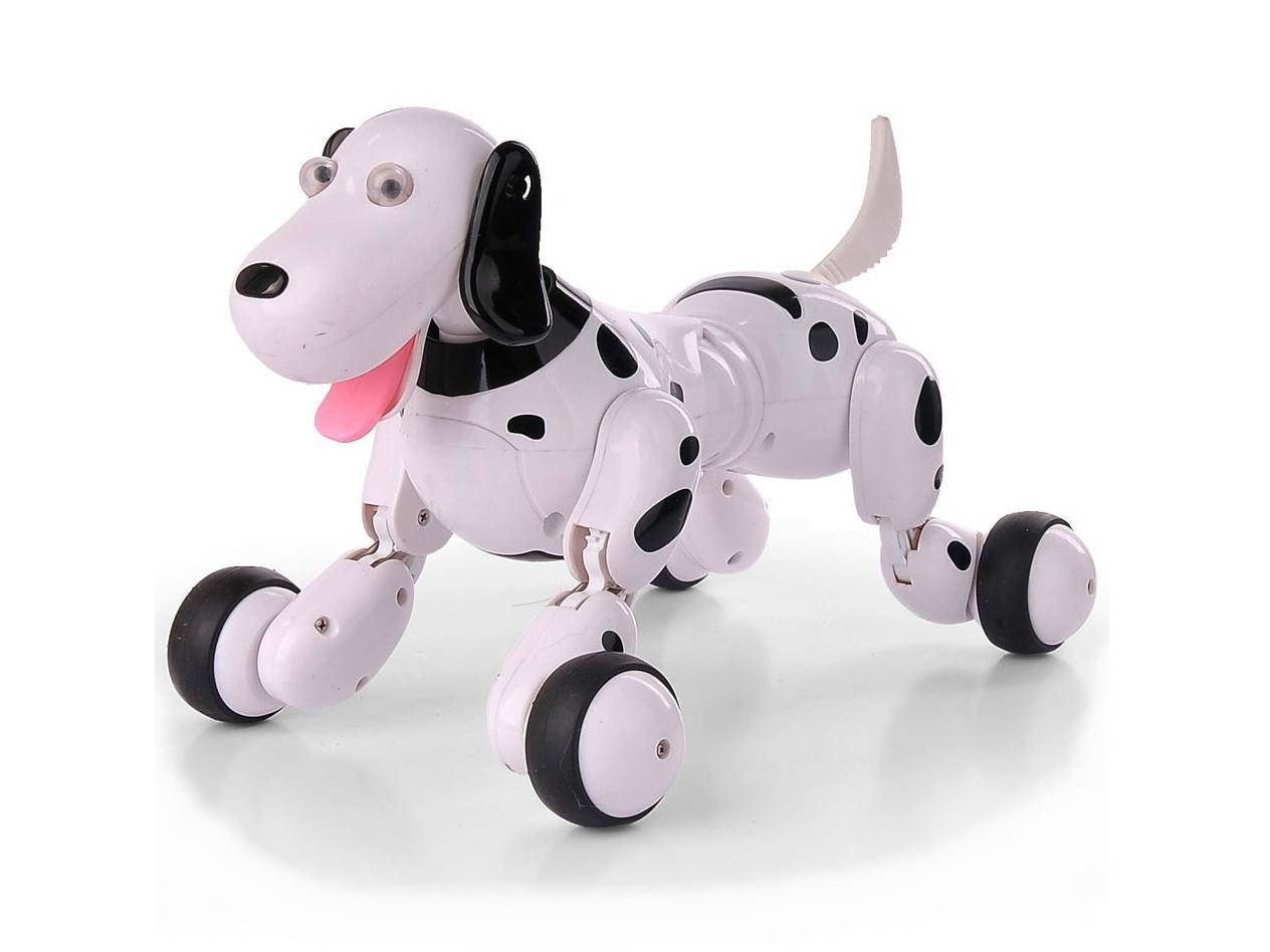 Робот-собака радиоуправляемый Happy Cow Smart Dog (черный)