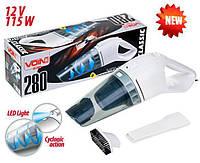 Пылесос автомобильный с LED подсветкой VOIN VC-280 12V/115W