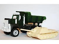 """Игровой набор военный транспорт """"Мак+Сау"""" МГ 122 тм Maxgroup"""