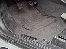 Водительский коврик ворсовый Volvo V50 (2004-2012)