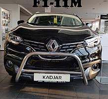 Кенгурятник Model на Renault Kadjar (c 2013--)