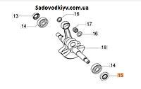 Сальник коленвала(правый) для бензопилы Oleo-Mac GS 44, GS 45 (3050024AR)