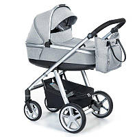 Детская универсальная коляска 2 в 1 Espiro 2.1 Next Melange 2020 07 Gray Center