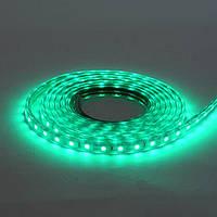 LED лента VOLGA 220V IP65 SMD5050 60LED/m 6W/m зеленая HOROZ ELECTRIC