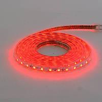 LED лента VOLGA 220V IP65 SMD5050 60LED/m 6W/m красная HOROZ ELECTRIC