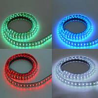 LED лента VOLGA 220V IP65 SMD5050 60LED/m 9,5W/m RGB HOROZ ELECTRIC