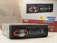 Автомагнитола Pioneer 1091 ВТ Usb+ SD+Fm+Aux+ пульт+ bluetooth, Автомобильная акустика