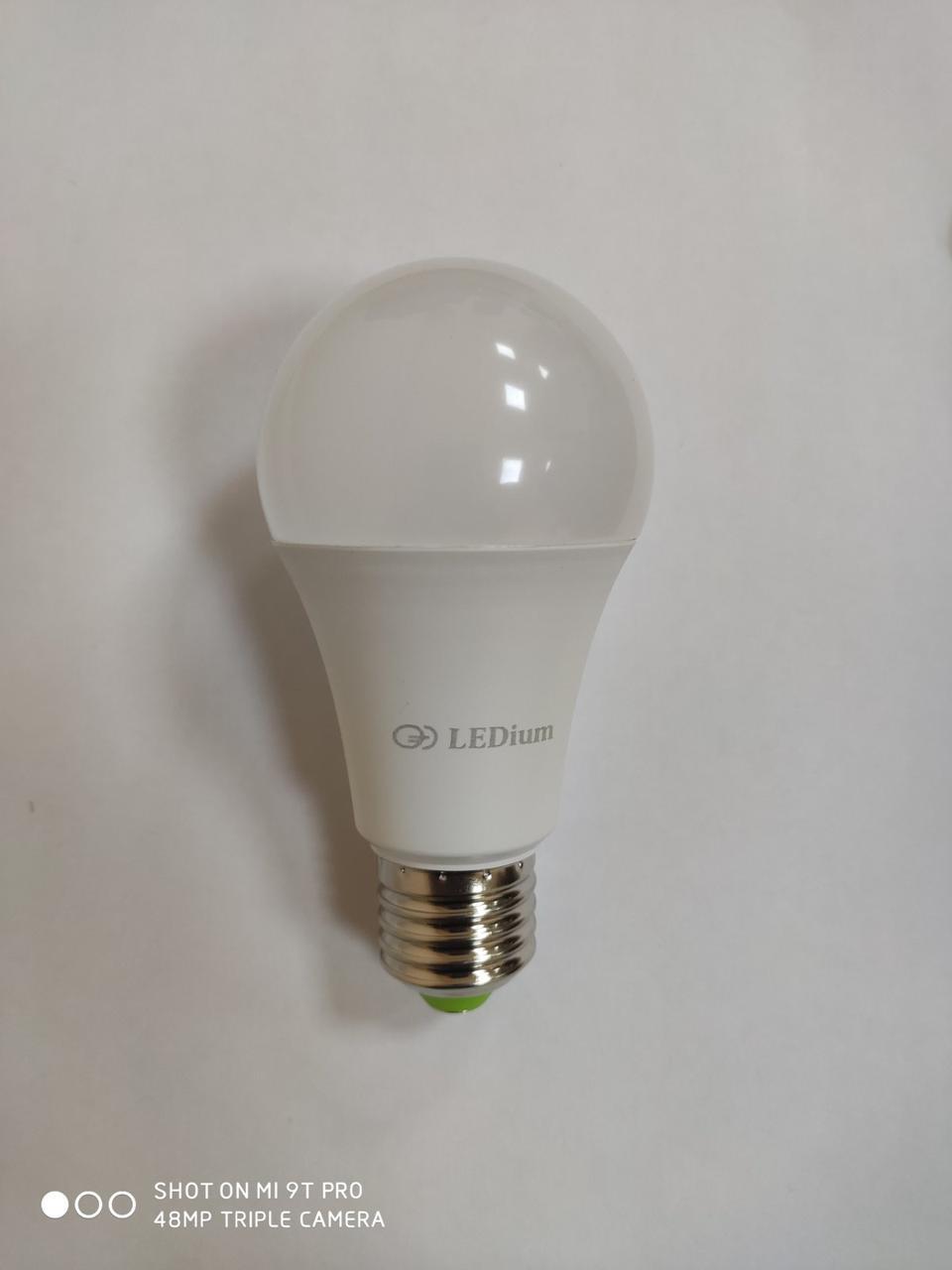 Лампа светодиодная 8 Ватт Е27 А60 4100К LEDium