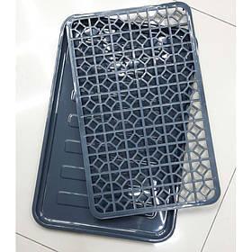 Сушка для посуды Dunya Plastik 10230 черная