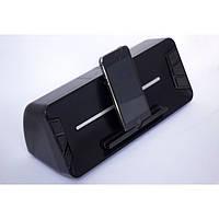 Стерео колонка на телефон Беспроводная Портативная Музыкальная Wster WS-1618 Bluetooth Чёрная