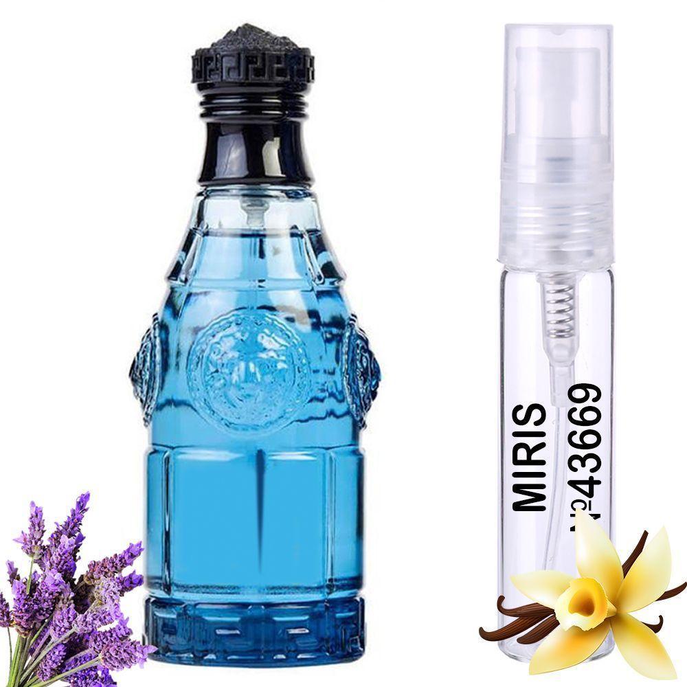Пробник Духов MIRIS №43669 (аромат похож на Versace Blue Jeans) Мужской 3 ml