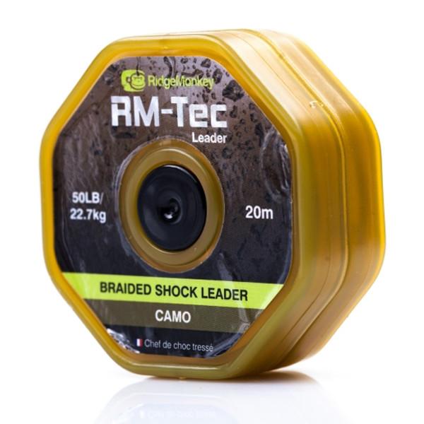 Лидкор Ridge Monkey RM-Tec Lead Free Leader 50lb Camo