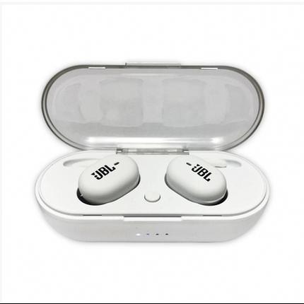 Беспроводные ваккумные наушники Bluetooth TWS JBL 4 Белые, фото 2