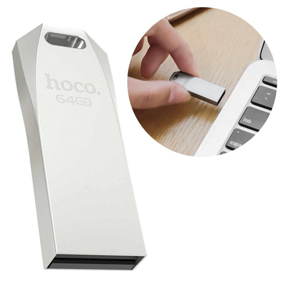 Флешка HOCO UD4 64GB USB Flash Disk металева U disck протиударна