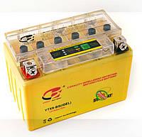 """Аккумулятор (АКБ) 12V 4А гелевый """"CB"""" (114x71x88, желтый с индикатором)"""
