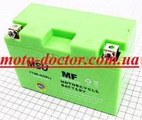 Аккумулятор 8Аh YT9B-4 (гелевый, зелен.) 150/70/105мм