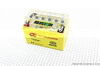 Аккумулятор 9Аh (гелевый, желтый) 150/85/105мм с ИНДИКАТОРОМ