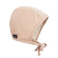 Elodie - Детская зимняя шапка Winter Bonnet, цвет Powder Pink, 3-6 мес