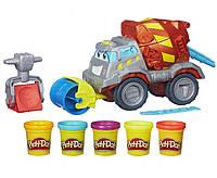 Hasbro Play-Doh Max The Cement Mixer Toy Construction Truck B1858 Плей До Тісто Тесто Лепка Ліплення