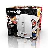 Електрочайник пластиковий Mesko MS 1276 1,0 літр, фото 8