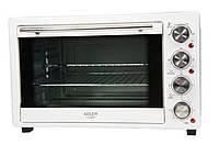 Электрическая печь духовка Adler AD 6001 обьем 35л мощность 1500вт, фото 1
