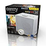Компактний спікер, радіо Camry CR 1165 з Bluetooth, 220вт, акумулятор, фото 8