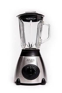 Блендер стаціонарний Adler AD 4070 потужність 800W, обєм чаші 1,5 л, 5 швидкостей