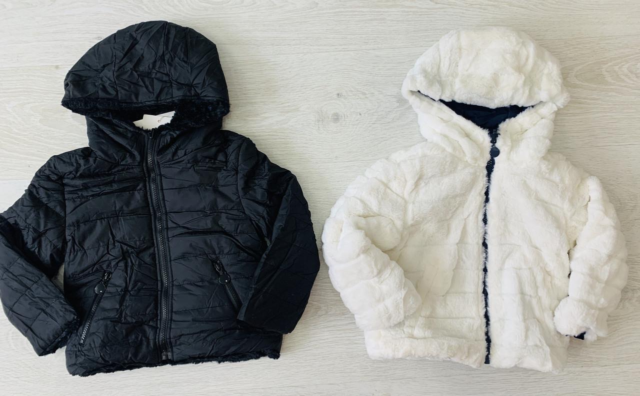 Куртка для дівчинки, двостороння, Угорщина, Taurus, арт. 0027, 98-140 см