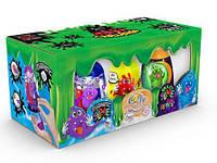 """Набор слаймов """"4 в 1"""" рус, Dankotoys, лизуны,товары для творчества,игрушки товары для детей,слайм"""