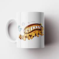 Чашка Котобус Тоторо. Аніме Мій сусід Тоторо. Totoro №9. Catbus, фото 1