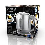 Електрочайник металевий Camry CR 1278 1,2 літр, фото 5