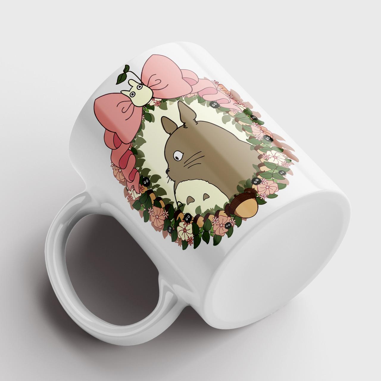 Чашка Тоторо. Аниме Мой сосед Тоторо. Totoro №11