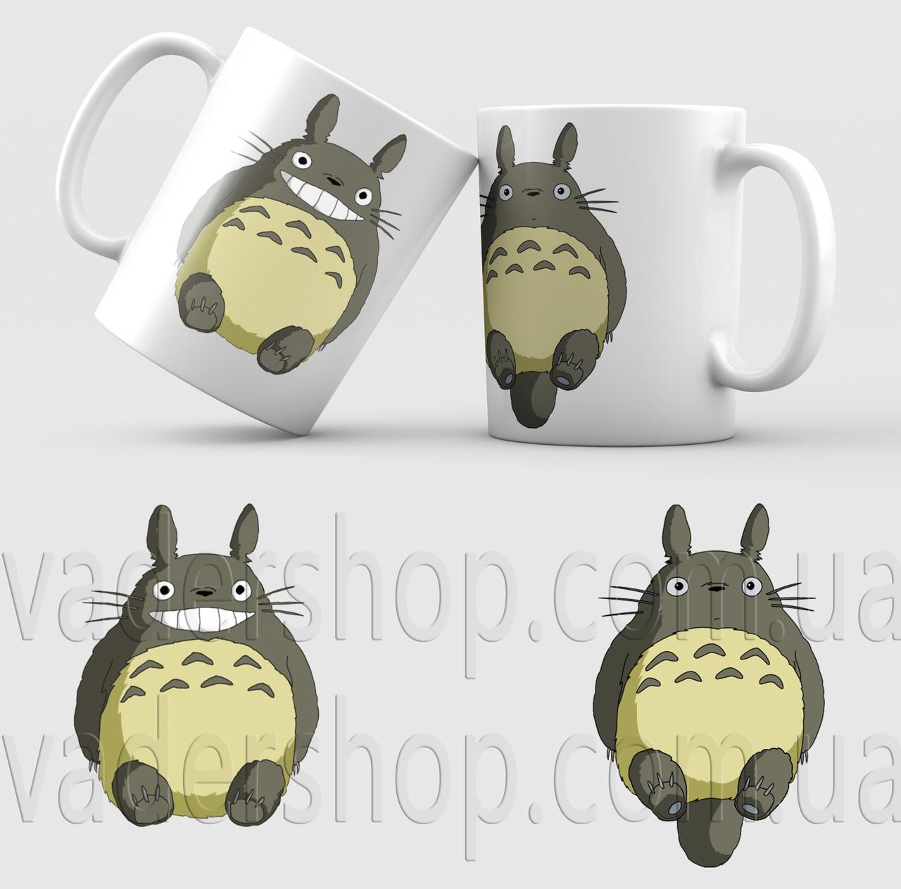 Чашка Тоторо. Аниме Мой сосед Тоторо. Totoro №12