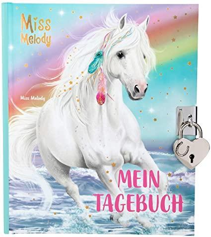 Щоденник для дівчаток TOP Model Miss Melody RAINBOW на замочку ( Дневник ежедневник для девочек ТОП Модель )