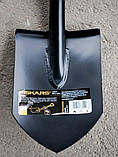 Лопата коротка Саперка Fiskars Solid 131417 Фінляндія, фото 8
