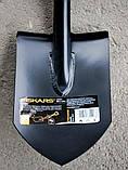 Лопата короткая Саперка Solid Fiskars 131417 Финляндия, фото 8