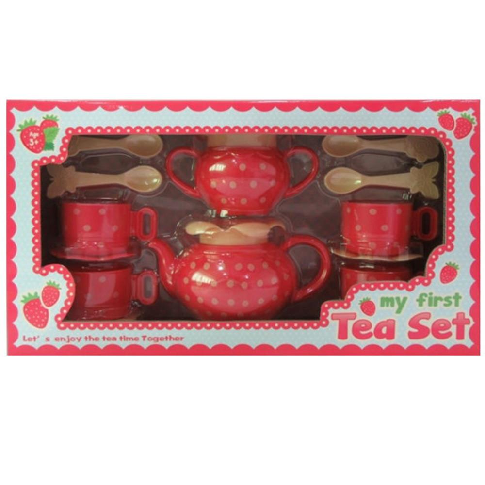Посуд чайний сервіз на 4 персони, кухонне приладдя, LN194