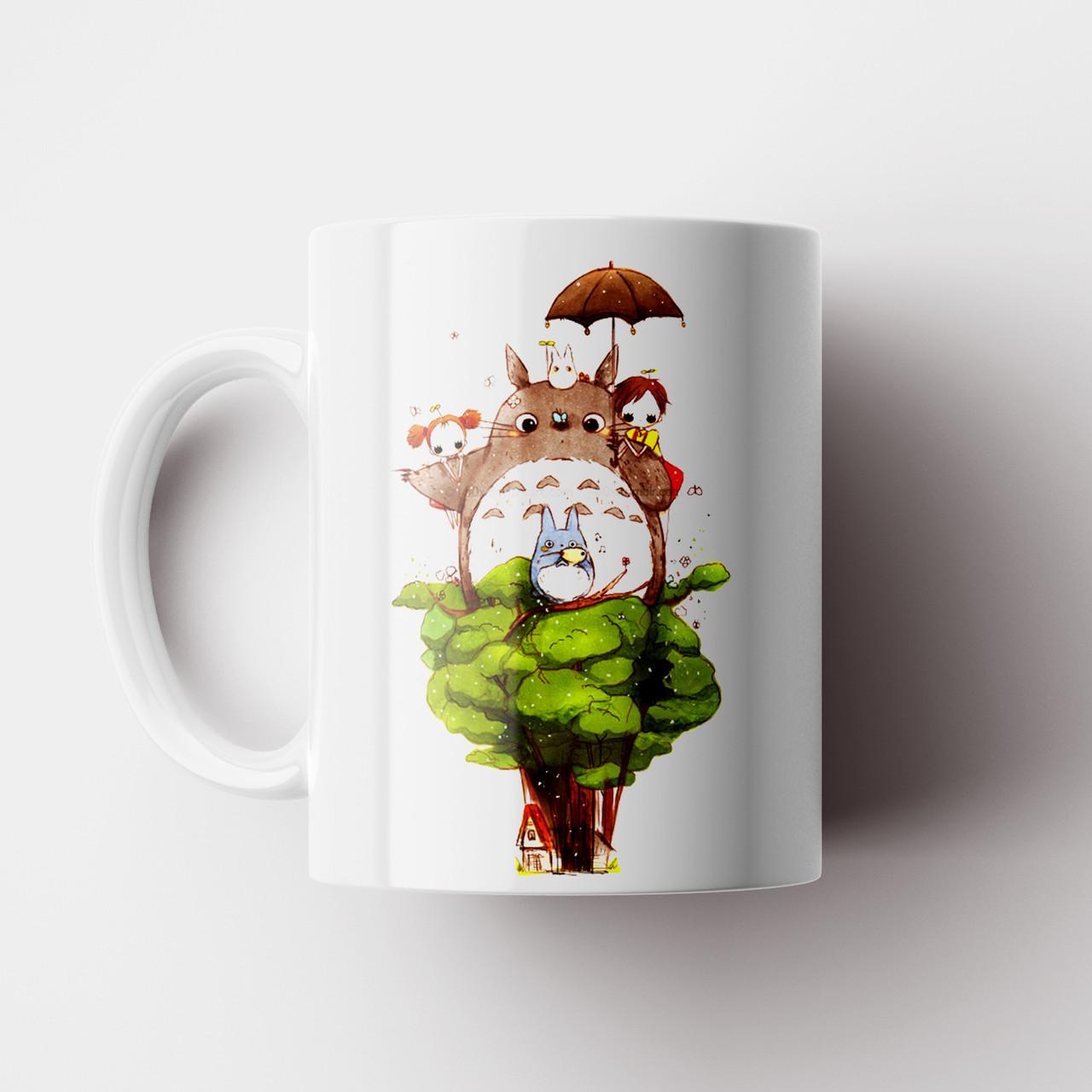Чашка Тоторо. Аниме Мой сосед Тоторо. Totoro №16