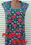 Платье без рукава 60 размер Розовые цветы, фото 7