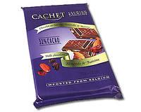 Шоколад Cachet milk chocolate Almonds& Raisins 32% cacao 300г