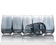 Набор стаканов для воды luxury аметист 350 мл, 6 шт.