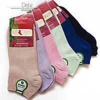 Безшовні укорочені жіночі шкарпетки Gulmen (Туреччина) 6023. Розмір 35-38, колір БЕЖЕВИЙ