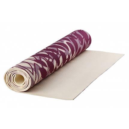 Коврик для йоги PVC Maxed YOGA MAT 1730x610x4 мм розовый, фото 2