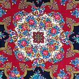 Дворянське гніздо 1910-18, павлопосадский вовняну хустку з шовковою бахромою, фото 7