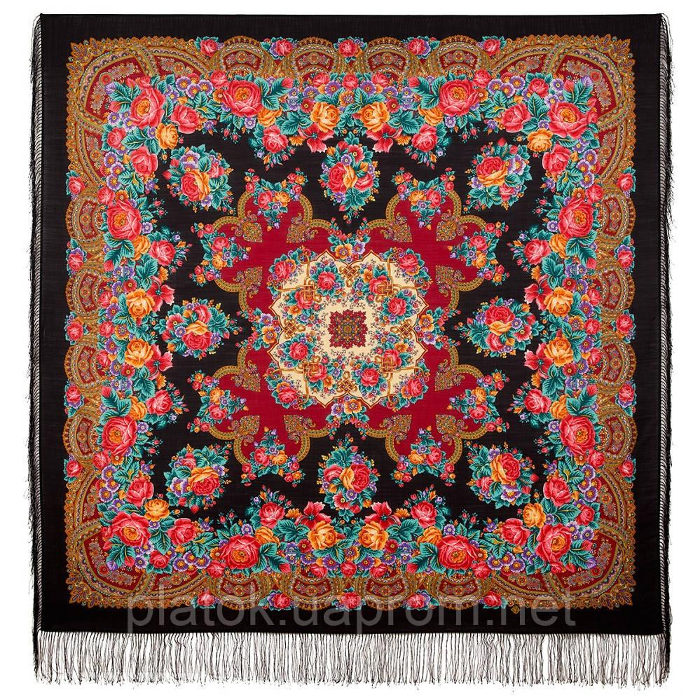 Дворянське гніздо 1910-18, павлопосадский вовняну хустку з шовковою бахромою
