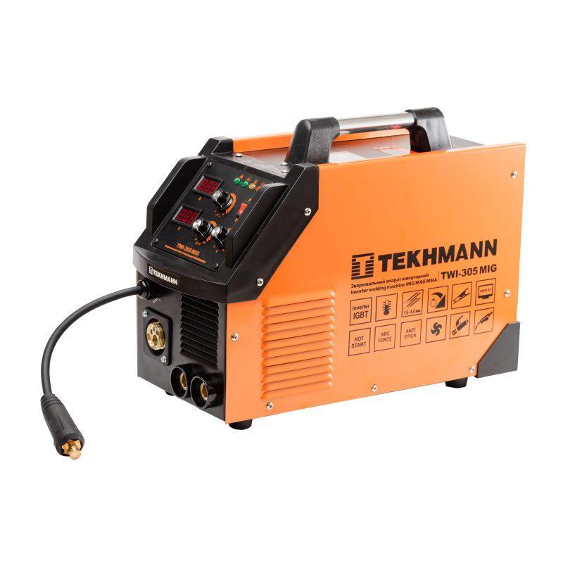 Инверторный сварочный полуавтомат Tekhmann TWI-305 MIG